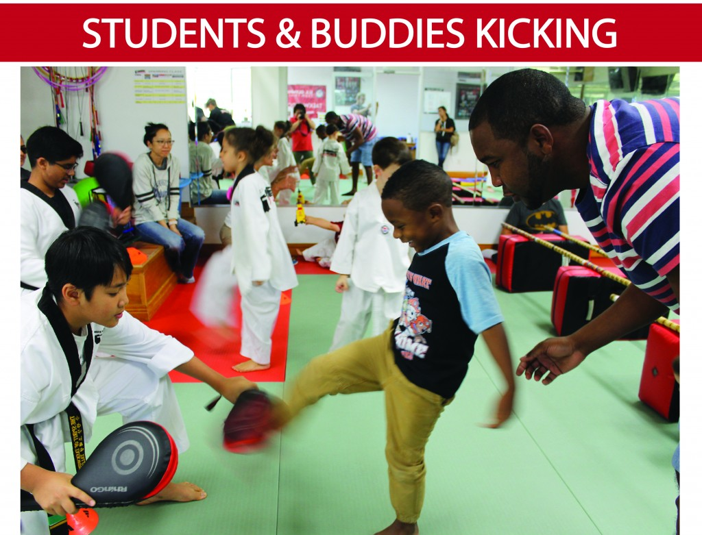 1 STUDENTS & BUDDIES KICK