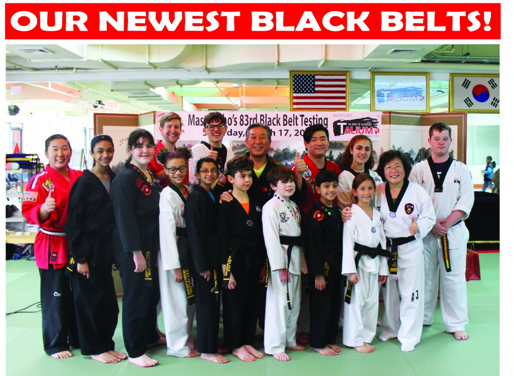 11 GROUP BLACK BELTS