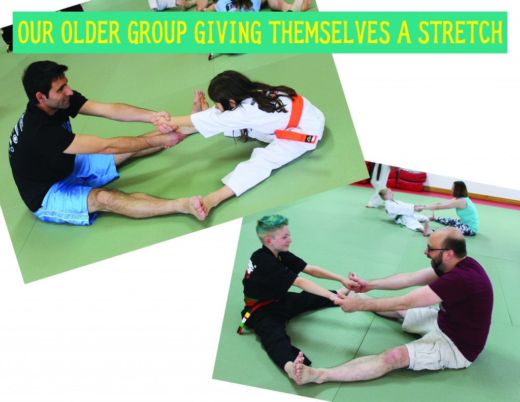 12 OLDER GROUP STRETCH