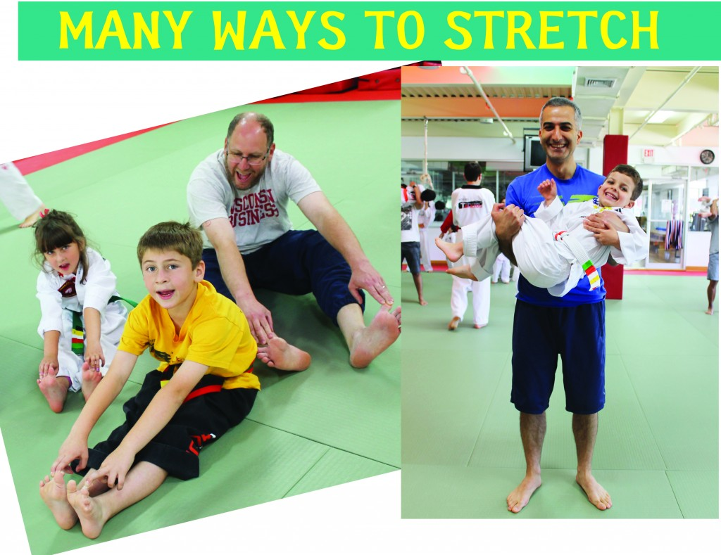 3 MANY WAYS TO STRETCH