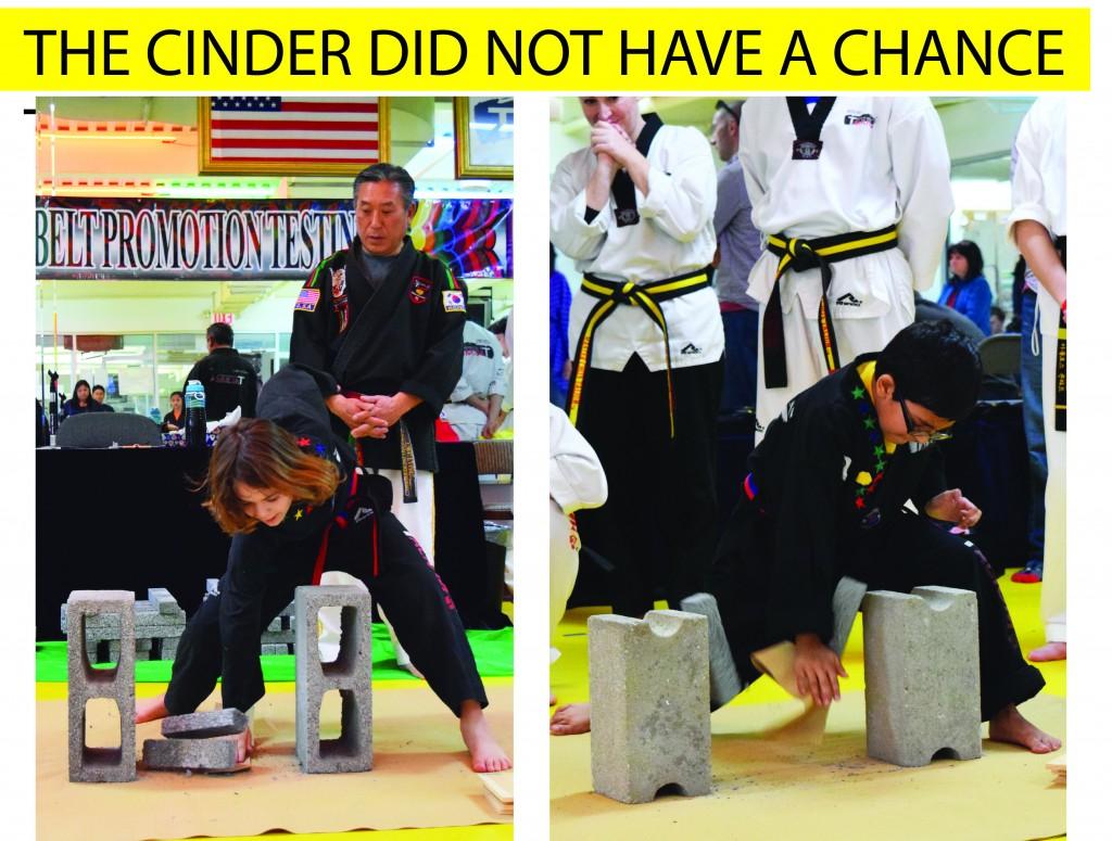 12 CINDER NO CHANCE