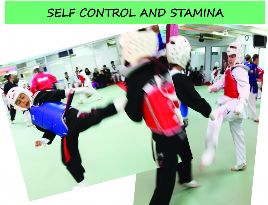 15 SELF CONTROL STAMINA