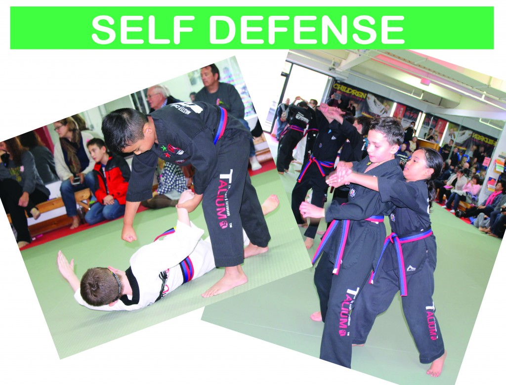 10 SELF DEFENSE
