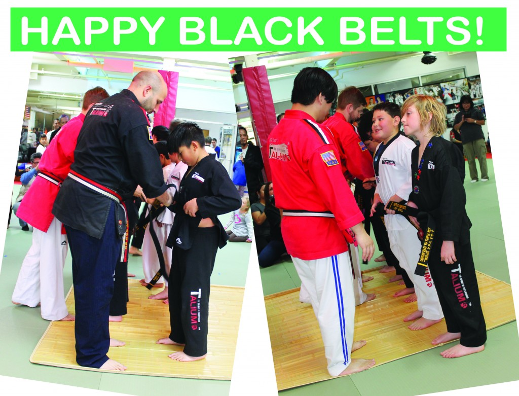 18 HAPPY BLACK BELTS
