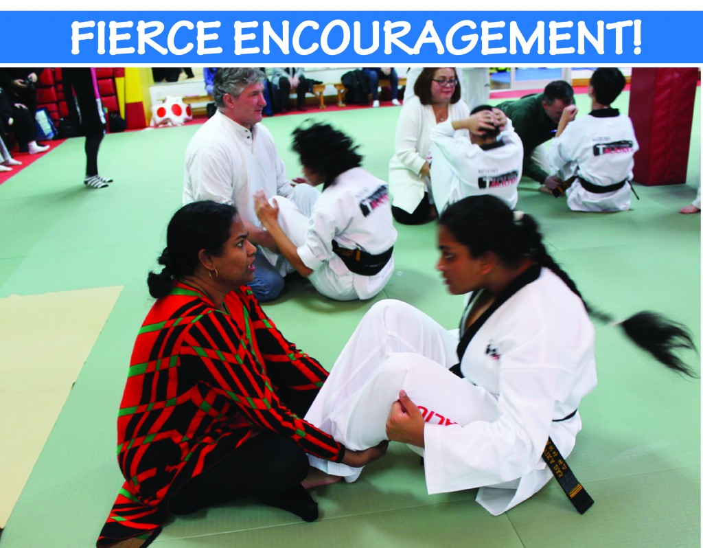 10 FIERCE ENCOURAGEMENT