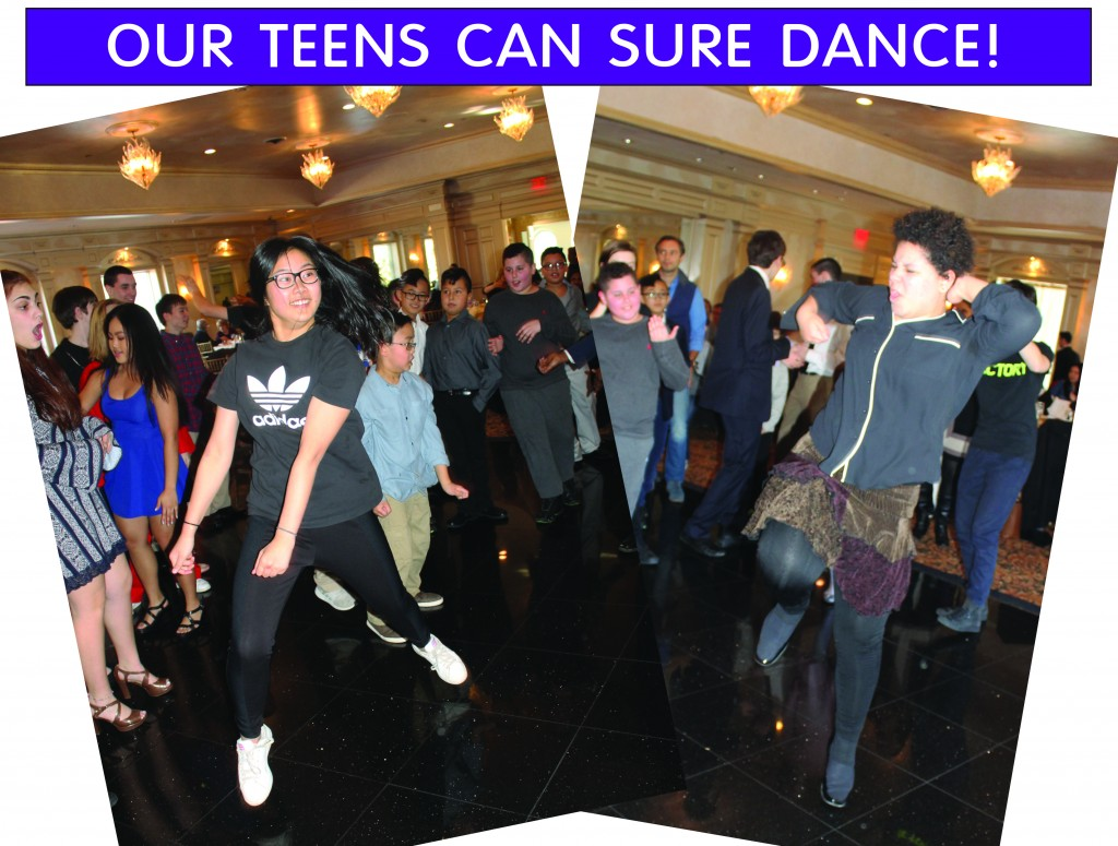14 TEENS CAN DANCE