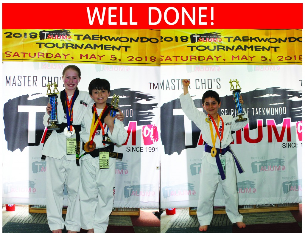 11 WINNERS TAEKWONDO TOURNAMENT