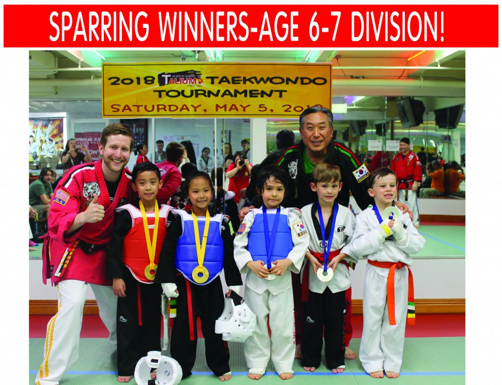 5 SPARRING AGE 6-7