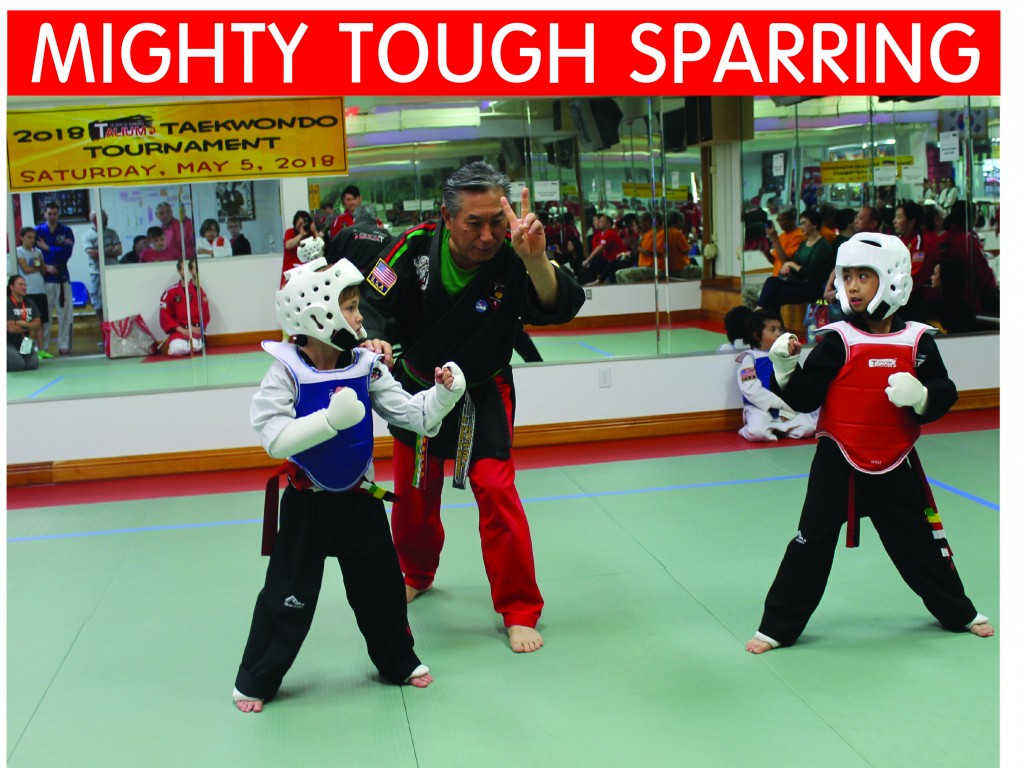 9 TOUGH SPARRING