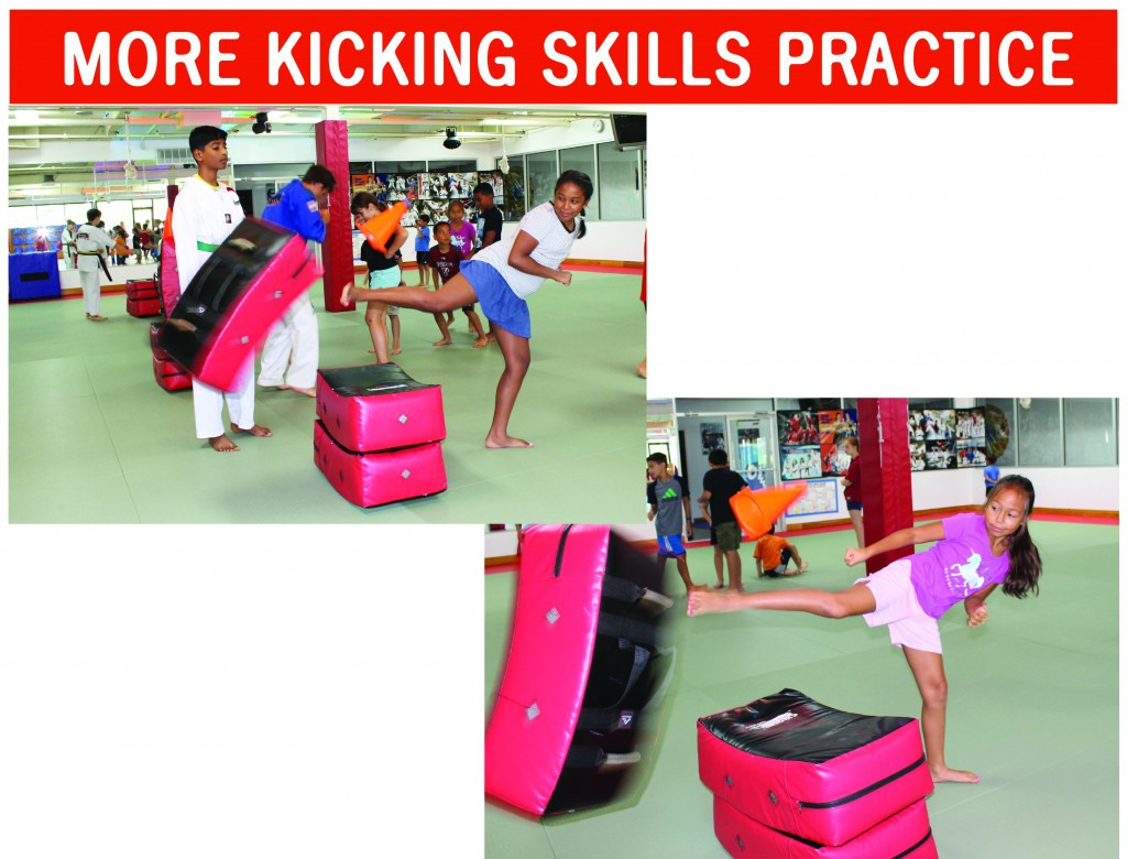 6 MORE KICKING SKILLS PRACTICE