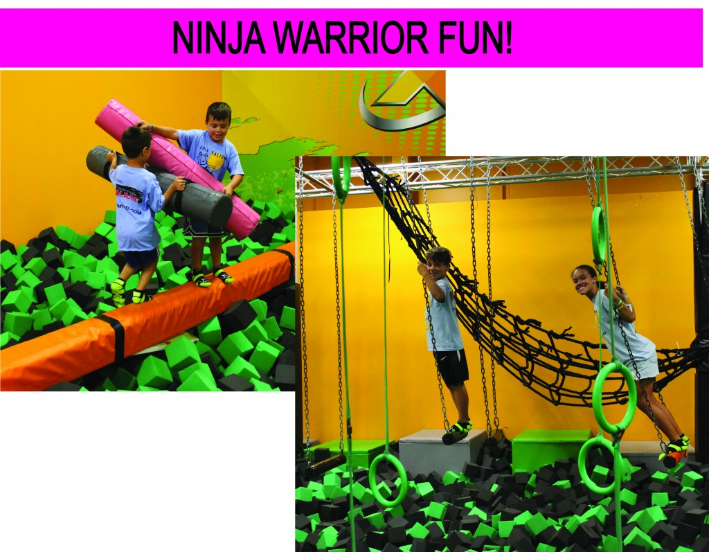 12 NINJA WARRIOR FUN