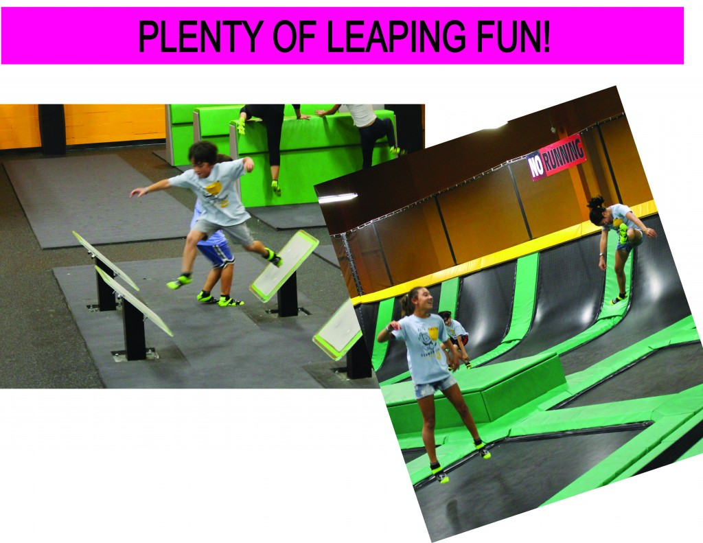 14 LEAPING FUN