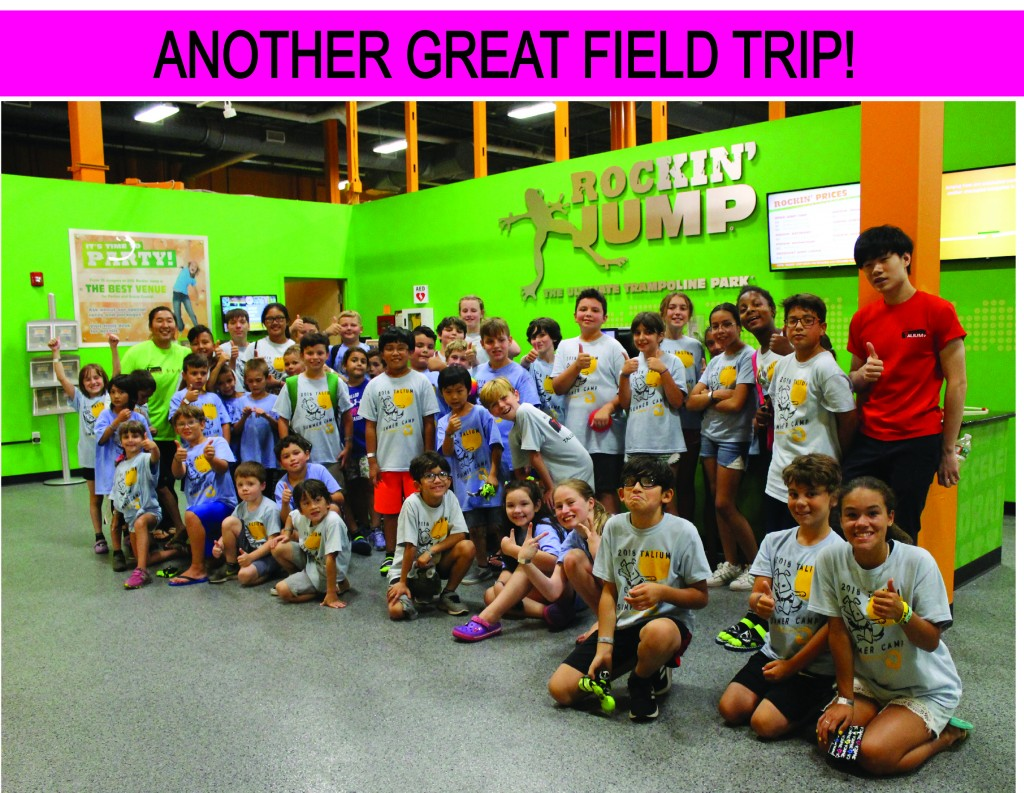 15 GREAT FIELD TRIP