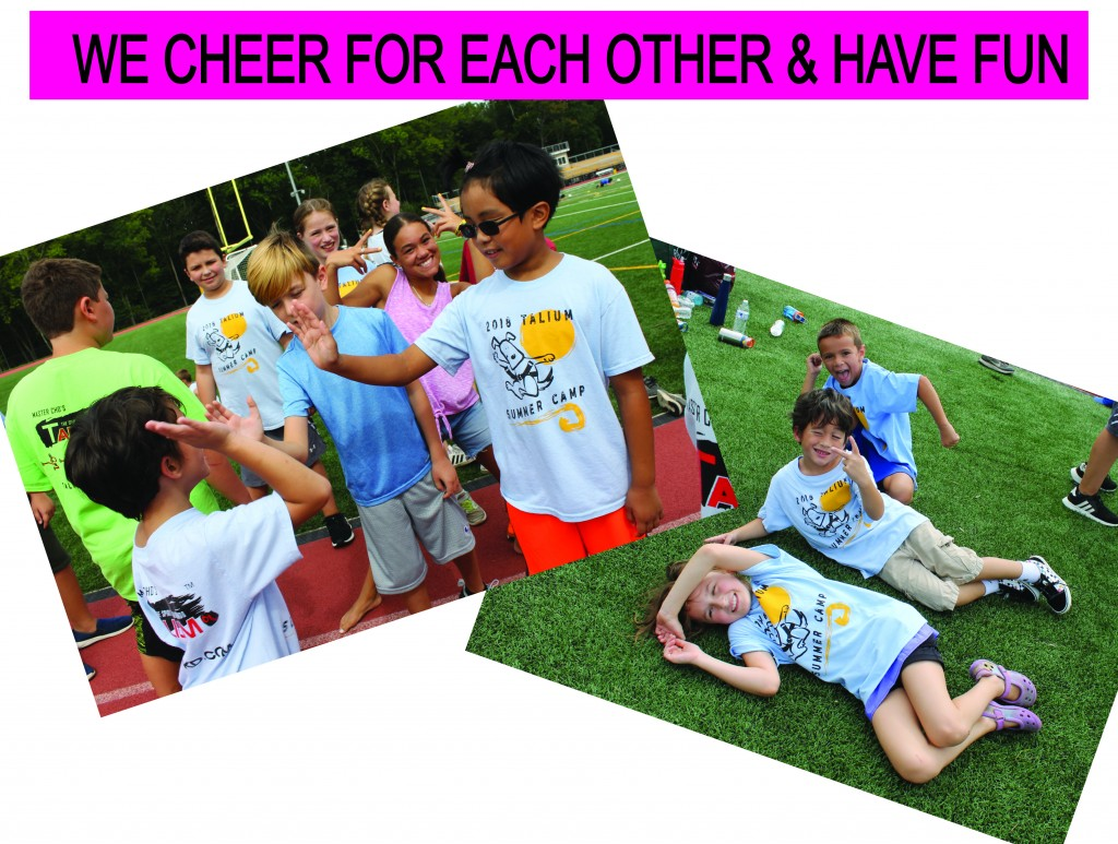 2 CHEER FOR EACH OTHER & FUN