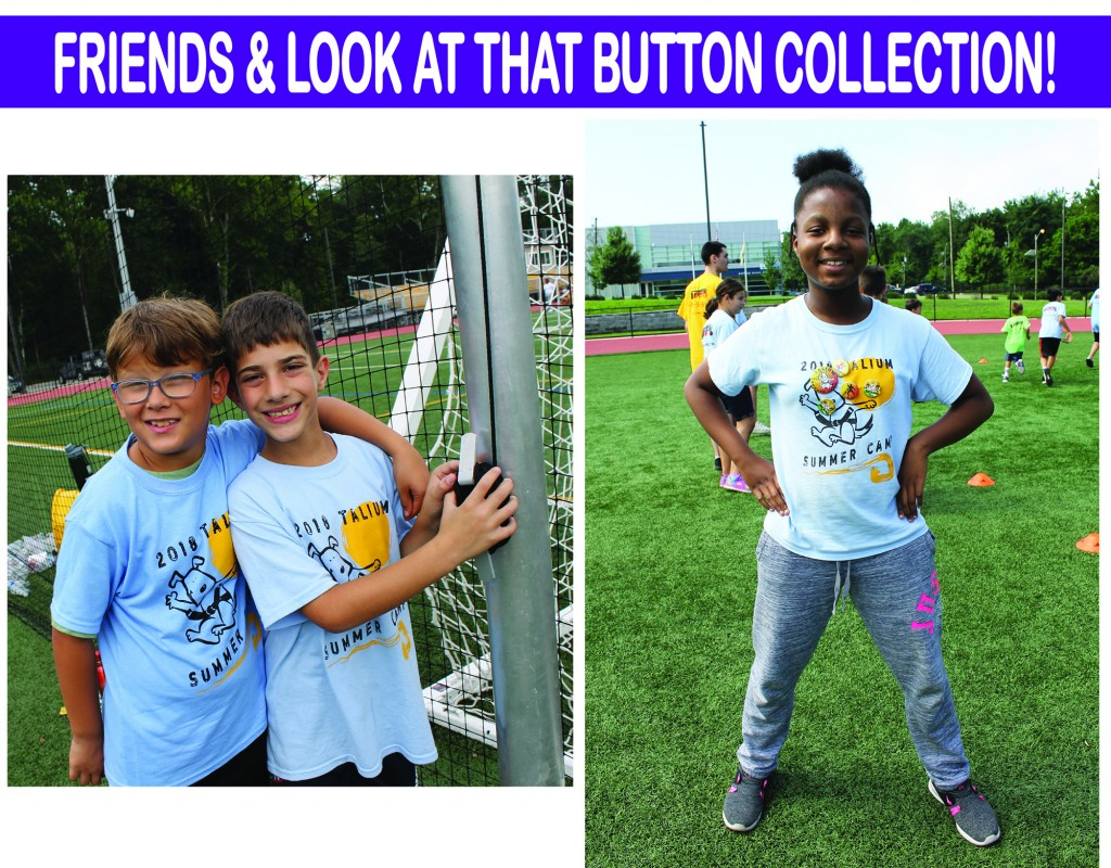 2 FRIENDS & BUTTON COLLECTION