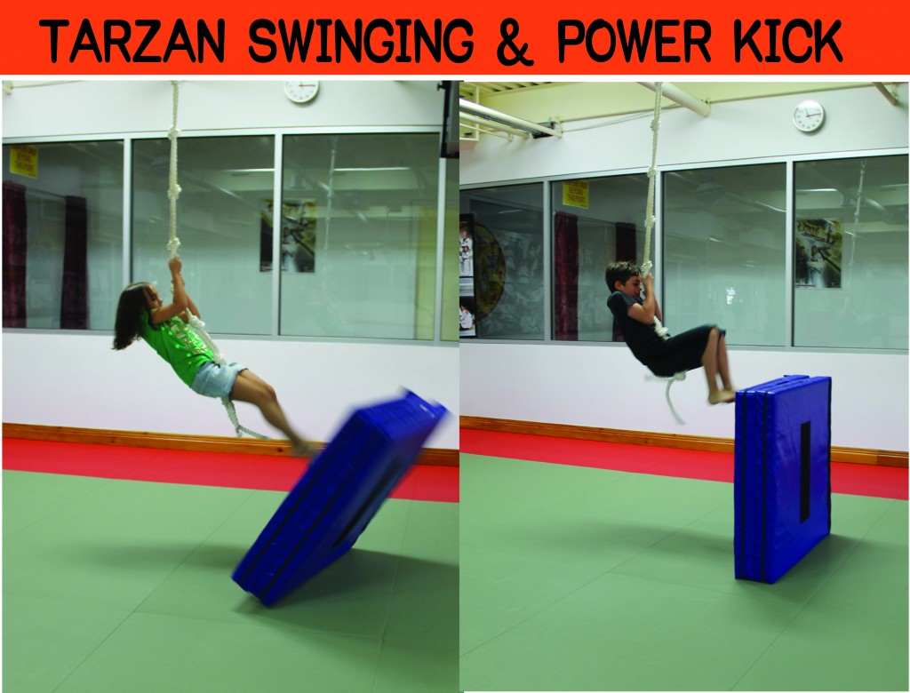 5 TALIUM TARZAN SWING POWER KICK