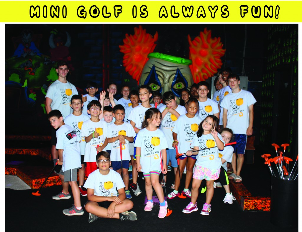 6 MINI GOLF GROUP