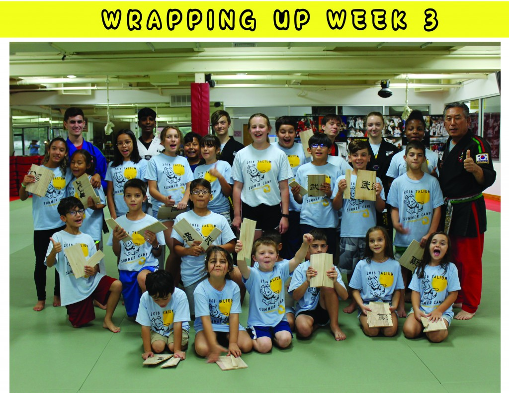 8 WRAPPING UP WEEK 3