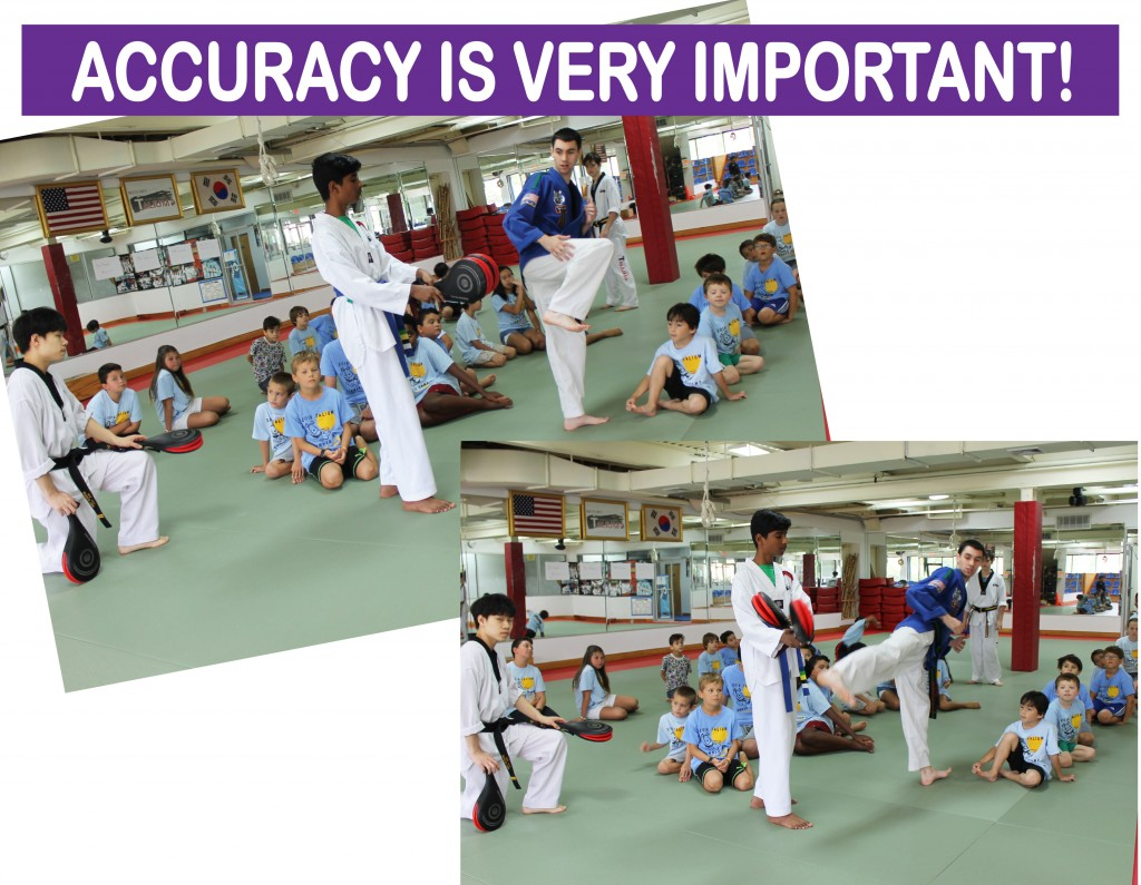 9 ACCURACY IS IMPORTANT TAEKWONDO