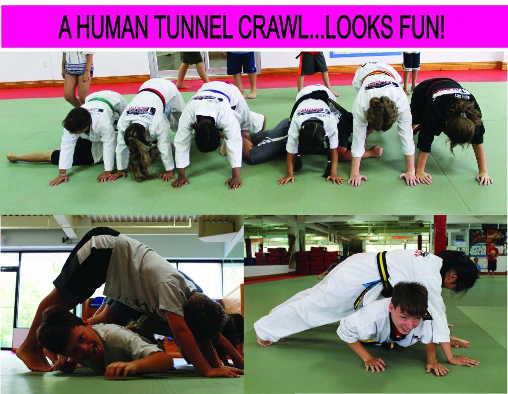 9 HUMAN TUNNEL CRAWL TALIUM