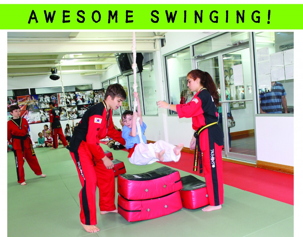 4 AWESOME TAEKWONDO SWINGING