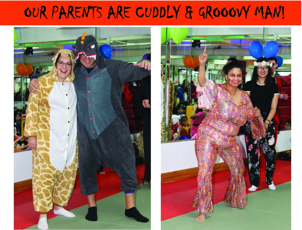 1 TALIUM PARENTS CUDDLY GROOVY