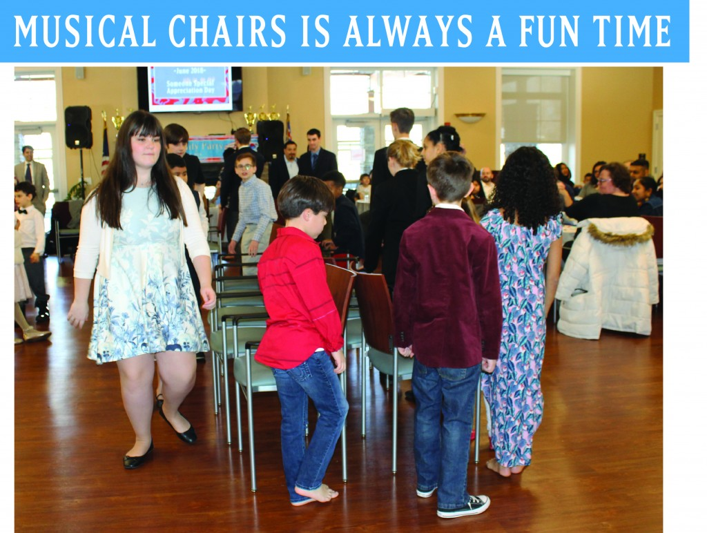 15 MUSICAL CHAIRS FUNai