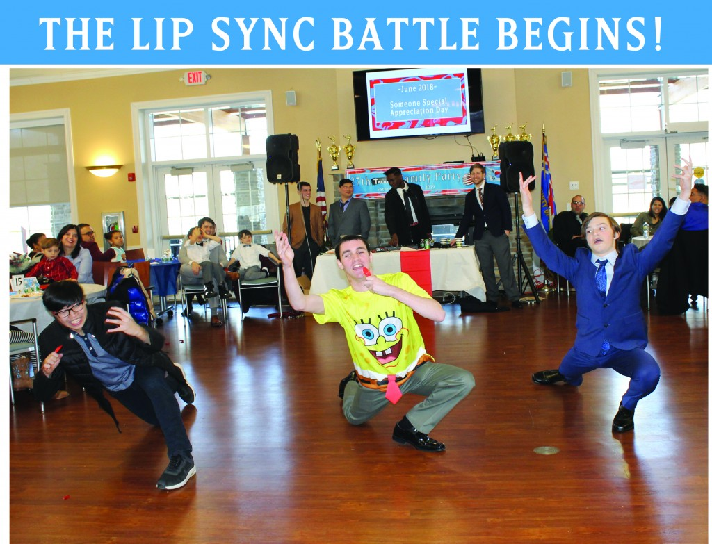 8 LIP SYNC BATTLE BEGINS