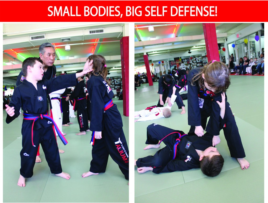 2 SMALL BODIES BIG SELF DEFENSE TALIUM