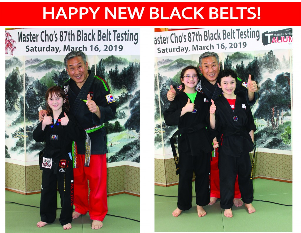 20 HAPPY NEW BLACK BELTS TALIUM
