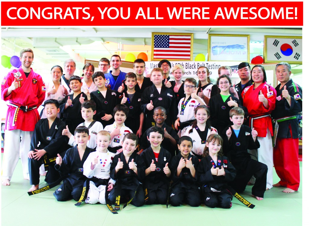 25 GROUP NEW BLACK BELTS TALIUM