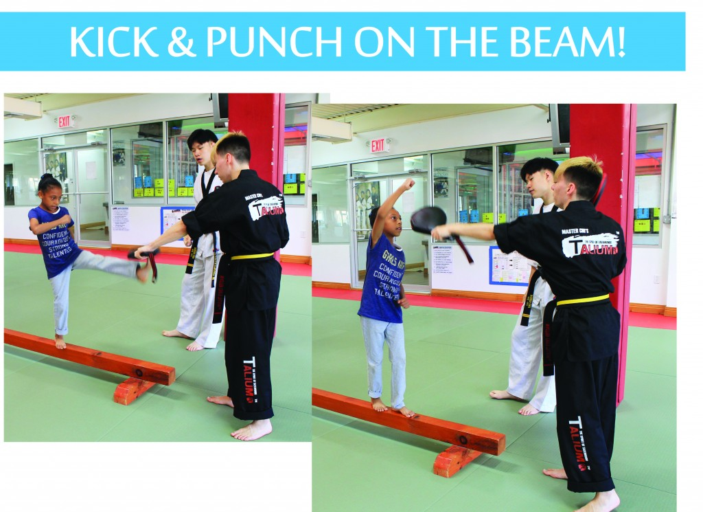 2 KICK PUNCH ON BEAM TALIUM