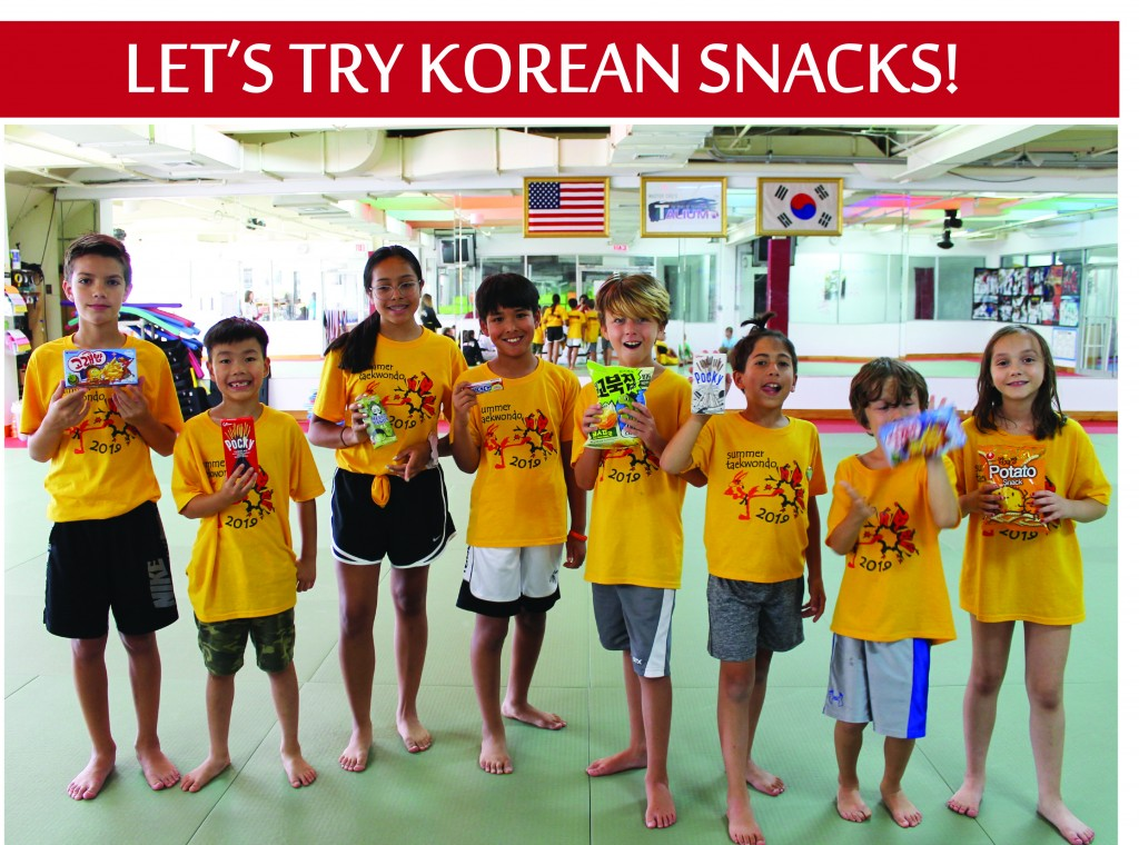 5 TRY KOREAN SNACKS
