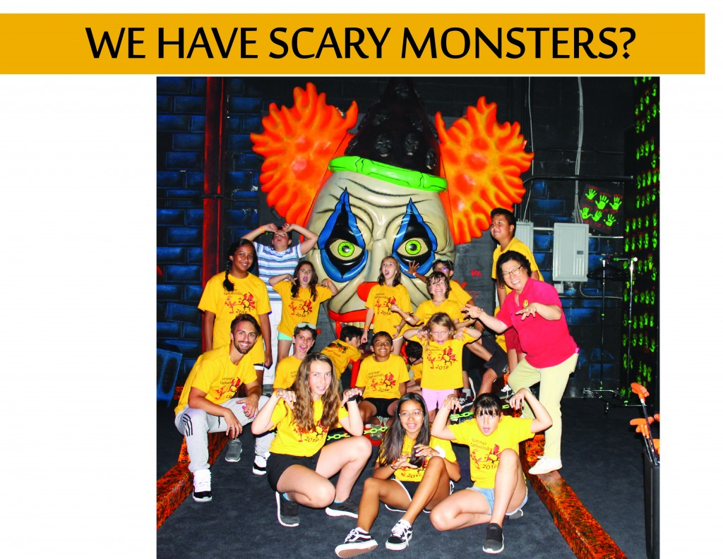7 SCARY MONSTERS