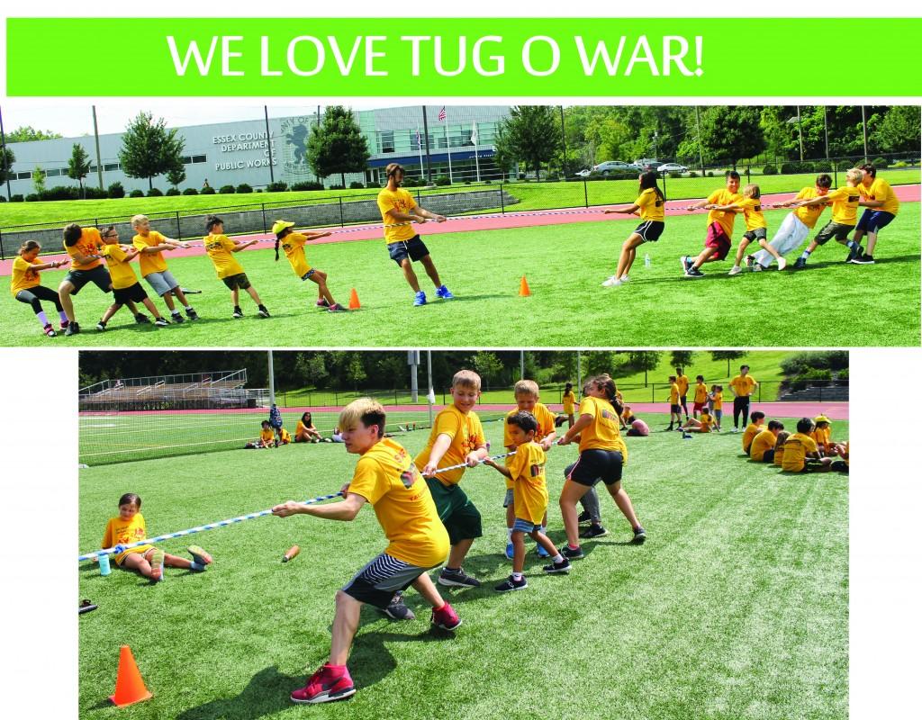 9 LOVE TUG O WAR