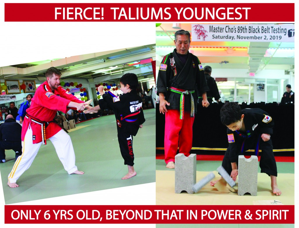 18 YOUNGEST FIERCE TALIUM