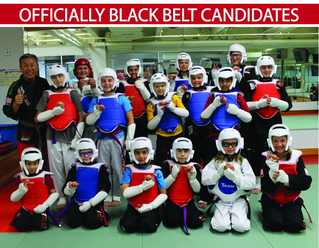 9 OFFICIALLY BLACK BELT CANDIDATES TALIUM