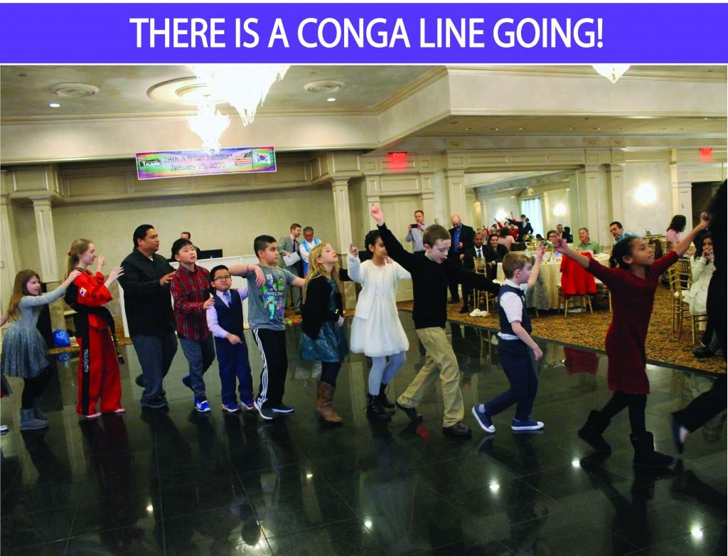 7 CONGA LINE